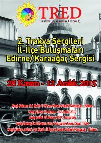 tred edirne karaağaç sergisi afiş